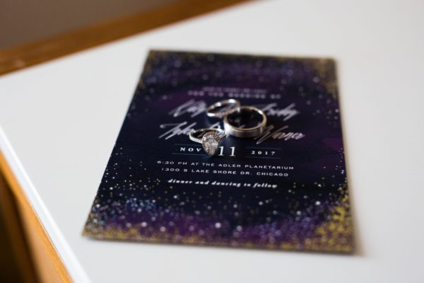 CHI Chic Weddings & Events - Adler Planetarium Wedding - Photography by Kina Wicks Photography