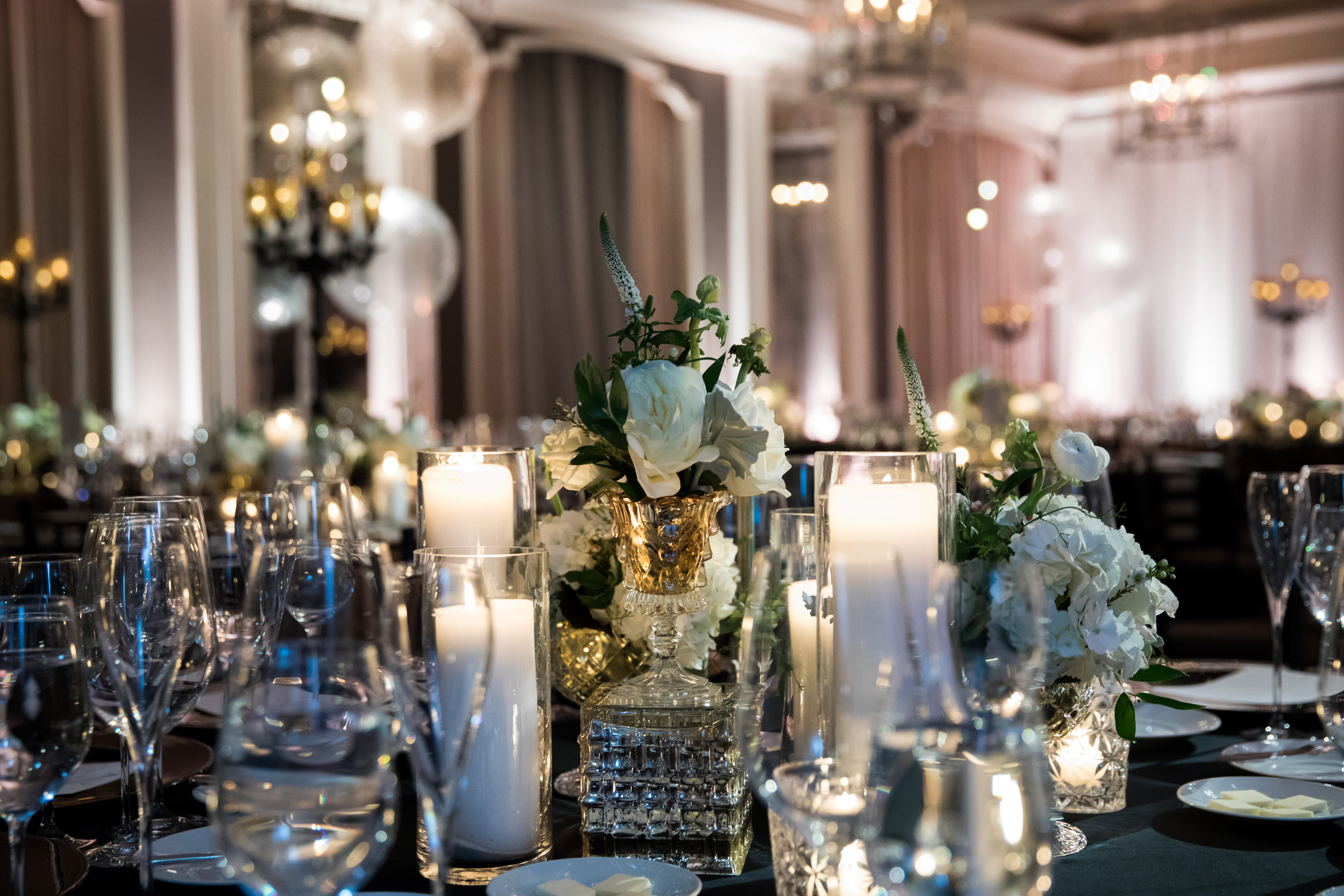 CHI Chic Weddings & Events - Black, White, & Bold: A Waldorf